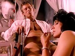 Jeanna Fine, Buck Adams in stunning beauty of Jeanna Fine in great 1970s porn