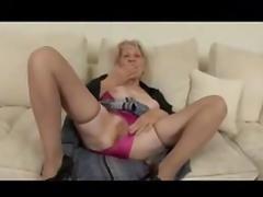 Blond Granny XXX