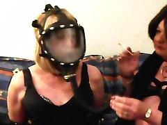 Mandy Bondage Smoke Slave