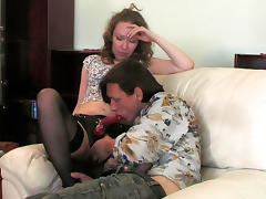 StraponScreen Clip: Leila and Gilbert B