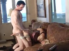 Home Invasion Fucking in Bondage