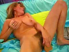 Very Mature Blonde Solo