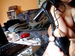 Shoejob with nylonsocks by Exgirlfriend