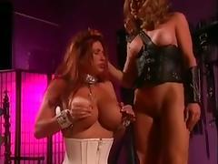 2 big titted lesbians into bdsm