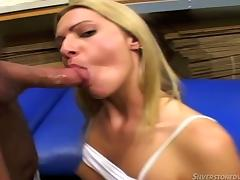 Ashley Long and Madison Day share some cock and cum