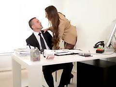 Boss, Amateur, Assfucking, Boss, Femdom, French