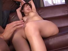 In bondage and yelling as a toy throbs her pussy