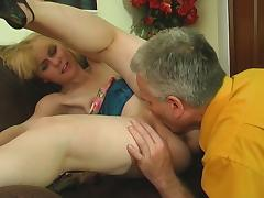 HornyOldGents Movie: Inessa B and Caspar M