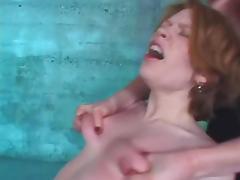 Tits slapped