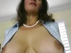 Mother's Friend, Friend, Hairy, Mature, POV, Friend's Mom