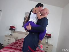 Tattooed porn star with an exquisite ass enjoying a hardcore fuck