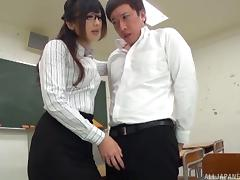 Japanese, Asian, Babe, College, Couple, Glasses