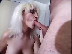 Hefty Boob Ashley Anne Blowing Off in POV