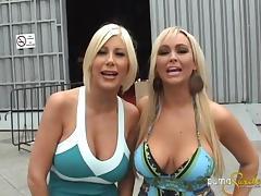 Backstage, Backroom, Backstage, Big Tits, Blonde, MILF