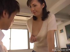 Asian Old and Young, Asian, Blowjob, Couple, Handjob, Hardcore