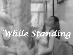 While Standing Vol.21 - Female Masturbation Compilation