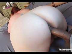 Redhead BBW Eliza Allure Takes on Shanes Huge Cock