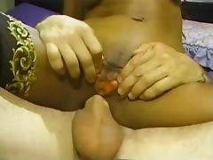 Rocker with tattoo fucks hot black chick !!!