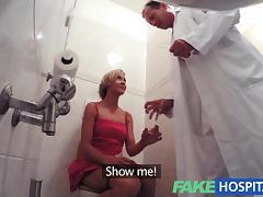 Clinic, Amateur, Blonde, Creampie, Fucking, Hospital