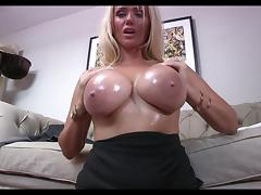 Big Fake Breasts - JOI