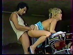 Motor Beast Between Her Legs