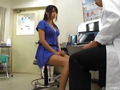 Doctor, Asian, Couple, Cute, Dirty, Doctor