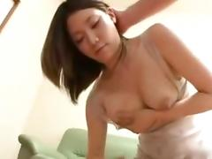 Aihara Yui-Hand job Breastmilk Healing by