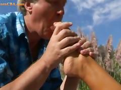 Fetish, Feet, Fetish, Garden, Hardcore, Nature