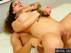 Brutal, BDSM, Big Tits, Boobs, Brutal, Casting