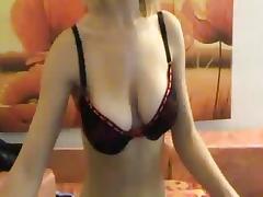 Precious blond masturbated with vibrator