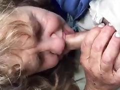 Sucking, Blowjob, Granny, Mature, Old, Russian
