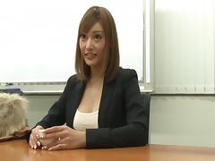 Getting a job requires a Japanese woman to fuck her interviewer