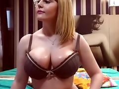 BBW, BBW, Big Tits, Solo, Strip, Webcam