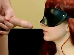 Amateur redhead deepthroat