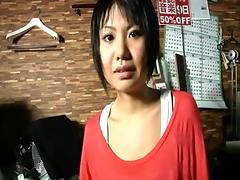 Japanese amateur anal masturbation