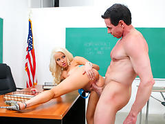 Cami Cole & Peter North in Peter North Is The Nasty Teacher, Scene #07