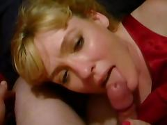 MILF Head #134 - Using her toungue only