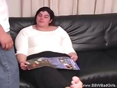 Amateur BBW Milf Loving It