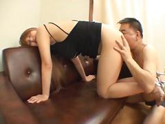 Bimbo, Asian, Ass, Ass Licking, Babe, Bimbo