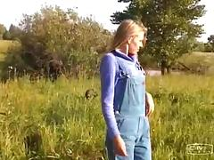 Ranch, Amateur, Army, Country, Couple, Farm