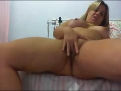 Brazil, Amateur, Blonde, Brazil, Fingering, Masturbation