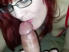 Nurse Ginger Gives An Amazing Blowjob POV