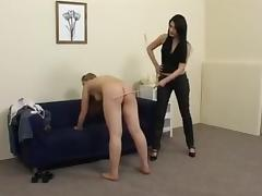 Blonde, Blonde, Caning, Punishment, Spanking