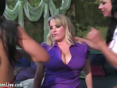 Busty Blonde Maggie Green Gets Pleasured by 2 Evil Nurses!