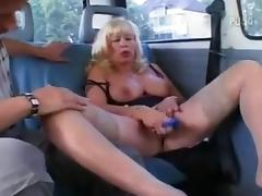 German mature hot ride