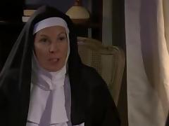 Nun, Bitch, Horny, Lesbian, Mature, Naughty