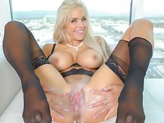 Nina Elle in Naked Surprise Video