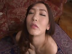 Nono Mizusawa being throbbed hard in a compilation video