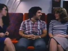 Ron helps Paula Di S and Martina join the mile high club