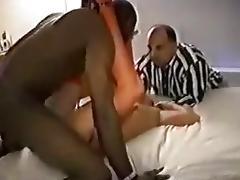 Older mother goes for cuckold sex